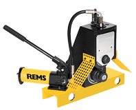 REMS roll grooving attachment